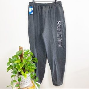 NWT Champion Brigham Young Sweatpants XL